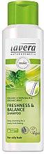 Düfte, Parfümerie und Kosmetik Frische & Anti-Fett Shampoo für schnell fettendes Haar - Lavera Freshness & Balance Shampoo