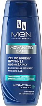 Gel für die Intimhygiene - AA Men Advanced Care Refreshing Intimate Gel — Bild N1