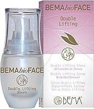 Düfte, Parfümerie und Kosmetik Anti-Aging Gesichtsserum mit Doppel Lifting-Effekt - Bema Cosmetici BemaBioFace Double Lifting Serum