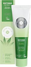 Düfte, Parfümerie und Kosmetik Aufhellende Zahnpasta mit Hanföl - Green Feel's Whitening Toothpaste