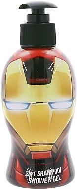 2in1 Duschgel und Shampoo für Kinder - Corsair Avengers Marvel Iron Man Shampoo Shower Gel 2 in 1 — Bild N1