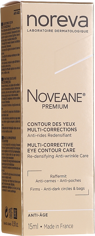Multifunktionale Anti-Aging Creme für die Augenpartie - Noreva Laboratoires Noveane Premium Multi-Corrective Eye Care