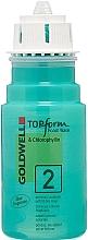 Düfte, Parfümerie und Kosmetik Schaum-Dauerwelle für poröses oder oxidative gefärbtes Haar oder Naturhaar - Goldwell Topform Foam Wave 2