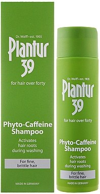 Phyto-Coffein-Shampoo gegen Haarausfall für feines und brüchiges Haar - Plantur 39 Coffein Shampoo — Bild N1