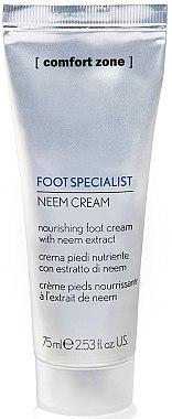 Tief pflegende Hand- und Fußcreme - Comfort Zone Foot Specialist Neem Cream — Bild N1