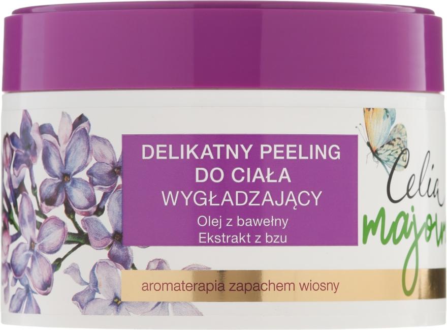 Glättendes Körperpeeling mit Baumwollsamenöl und Flieder-Extrakt - Celia Majowa — Bild N1