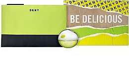 Düfte, Parfümerie und Kosmetik Donna Karan DKNY Be Delicious - Duftset (Eau de Parfum 30ml + Kosmetiktasche)