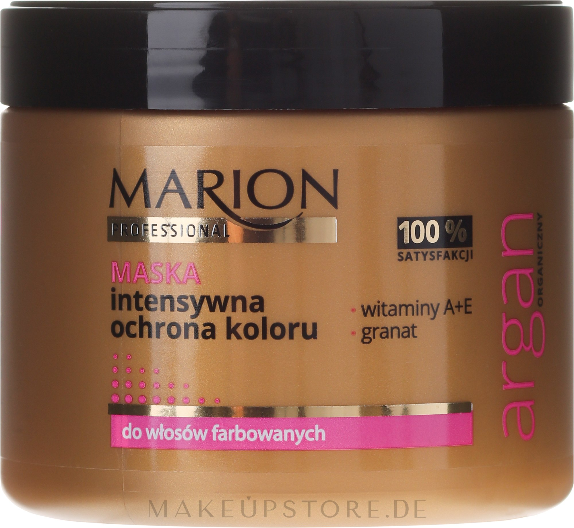 Haarmaske - Marion Professional Argan Intensive Colour Protection Hair Mask — Bild 450 g