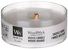 Düfte, Parfümerie und Kosmetik Mini Duftkerze im Glas Wood Smoke - Woodwick Petite Candle Wood Smoke