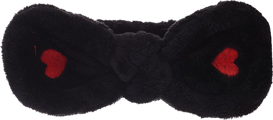 Kosmetisches Haarband, schwarz - Lash Brow Cosmetic SPA Band — Bild N1