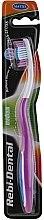Düfte, Parfümerie und Kosmetik Zahnbürste mittel Rebi-Dental M42 violett-weiß - Mattes