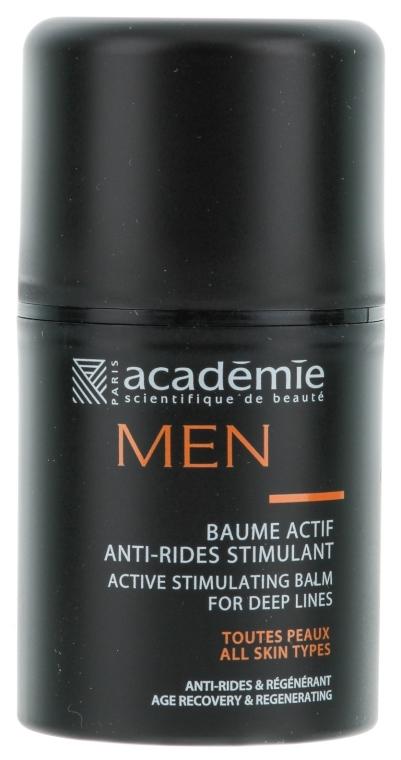 Aktiv-Balsam mit Falten glättender Wirkung für Männer - Academie Homme Balm — Bild N2