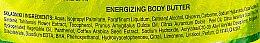 Energetisierende Körperbutter mit Limetee und Zitronengras - Perfecta Spa Energizing Lime & Lemongrass Body Butter — Bild N2