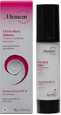 Tagescreme - _Element Snail Slime Filtrate Day Cream SPF 15 — Bild N1