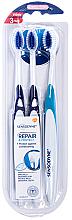 Düfte, Parfümerie und Kosmetik Zahnbürste extra weich Repair & Protect blau 3 St. - Sensodyne Repair Protect Extra Soft Triopack