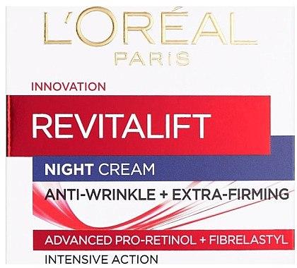 Anti-Falten Nachtcreme - L'Oreal Paris Revitalift — Bild N2