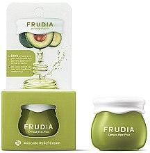 Düfte, Parfümerie und Kosmetik Beruhigende, stärkende und feuchtigkeitsspendende Gesichtscreme mit Avocadoextrakt - Frudia Relief Avocado Cream (Mini)