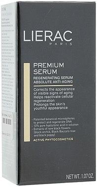 Regenerierendes Gesichtsserum gegen Falten - Lierac Exclusive Premium Serum Regenerant — Bild N1