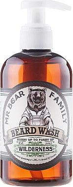 Sanftes Bartshampoo - Mr. Bear Family Beard Wash Wilderness — Bild N1