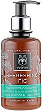 Düfte, Parfümerie und Kosmetik Feuchtigkeitsspendende Körpermilch mit Feige - Apivita Refreshing Fig Body Milk