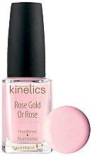 Düfte, Parfümerie und Kosmetik Nagelhärter Rose Gold - Kinetics Rose Gold Hardener