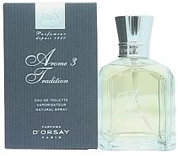 Düfte, Parfümerie und Kosmetik D`Orsay Arome 3 Tradition - Eau de Toilette