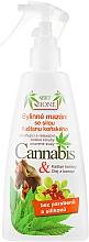 Düfte, Parfümerie und Kosmetik Fußspray mit Cannabis- und Rosskastanienextrakt - Bione Cosmetics Cannabis Herbal Salve With Horse Chestnut