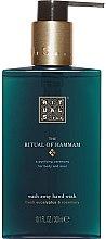 Düfte, Parfümerie und Kosmetik Pflegende Flüssigseife mit Eukalyptus- und Rosmarinduft - Rituals The Ritual of Hammam Hand Wash