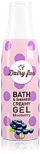 Düfte, Parfümerie und Kosmetik Creme-Duschgel mit Heidelbeerduft - Delia Dairy Fun Bath Shower Creamy Gel