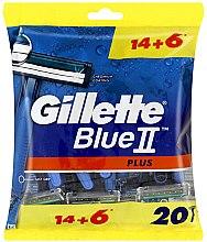 Düfte, Parfümerie und Kosmetik Einwegrasierer 20 St. - Gillette Blue II Plus
