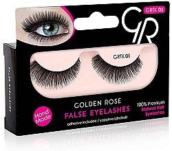 Düfte, Parfümerie und Kosmetik Künstliche Wimpern - Golden Rose False Eyelashes