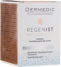 Düfte, Parfümerie und Kosmetik Intensiv glättende und regenerierende Tagescreme - Dermedic Regenist ARS 5 Retinolike Day Intensely Smoothing Repair Cream
