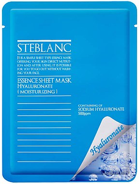 Gesichtsmaske - Steblanc Essence Sheet Mask Hyaluronate — Bild N1