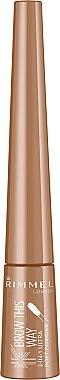 Augenbrauenpuder mit Applikator - Rimmel Brow This Way 3-in-1 Soft Powder — Bild N1