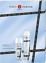 Düfte, Parfümerie und Kosmetik Coty Pret-a-Porter - Duftset (Körperspray/75ml + Deodorant/200ml)