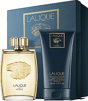 Lalique Lalique Pour Homme - Duftset (Eau de Parfum 125ml + Duschgel 150ml) — Bild N1