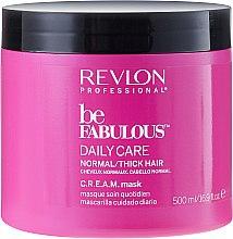 Düfte, Parfümerie und Kosmetik Maske für normales und dickes Haar - Revlon Professional Be Fabulous Daily Care Mask