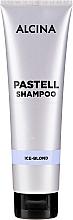 Düfte, Parfümerie und Kosmetik Farbauffrischendes Shampoo für blondes Haar - Alcina Pastell Shampoo Ice-Blond