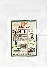 Düfte, Parfümerie und Kosmetik Natürliches Pflanzenpulver für ayurvedische Haarpflege - Le Erbe Di Janas Kapoor Kachli Powder