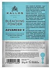 Düfte, Parfümerie und Kosmetik Aufhellendes Haarpulver - Kallos Cosmetics Bleaching Powder Advanced 9