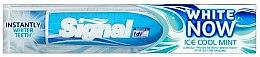 Düfte, Parfümerie und Kosmetik Aufhellende Zahnpasta Now White Ice Cool Mint - Signal Now White Ice Cool Mint Toothpaste