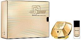 Düfte, Parfümerie und Kosmetik Paco Rabanne Lady Million - Duftset (Eau de Parfum 50ml + Nagellack 9ml)
