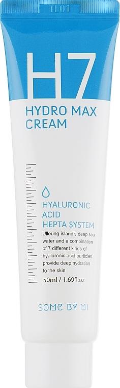 Tief feuchtigkeitsspendende Gesichtscreme mit Hyaluronsäure - Some By Mi H7 Hydro Max Cream — Bild N2