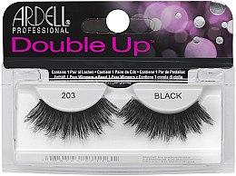 Düfte, Parfümerie und Kosmetik Künstliche Wimpern - Ardell Double Up 203 Black