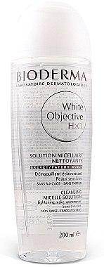 Bioderma White Objective H2O Cosmetic - Mizellen-Lösung zur Gesichtsreinigung und Make-up-Entfernung — Bild N1