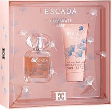 Düfte, Parfümerie und Kosmetik Escada Celebrate Life - Duftset (Eau de Parfum 30ml + Körperlotion 50ml)