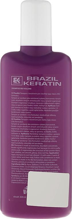 Shampoo mit Keratin für mehr Volumen - Brazil Keratin Bio Volume Shampoo — Bild N2