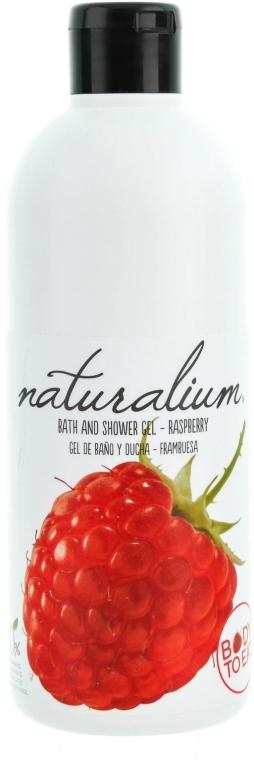 Pflegendes Bade- und Duschgel mit Himbeerduft - Naturalium Bath And Shower Gel Raspberry — Bild N1
