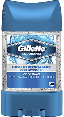 Deo-Gel Antitranspirant - Gillette Endurance Cool Wave Anti-Perspirant Gel for Men — Bild N1