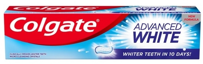Zahnpasta Advanced White - Colgate Advanced White — Bild N1